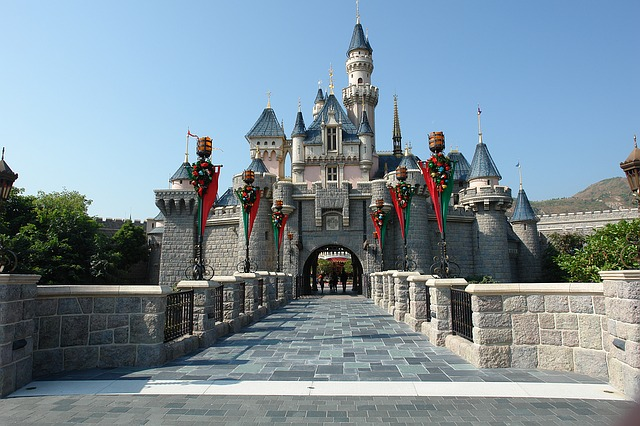 Hong Kong Disneyland Sleeping Beauty Castle