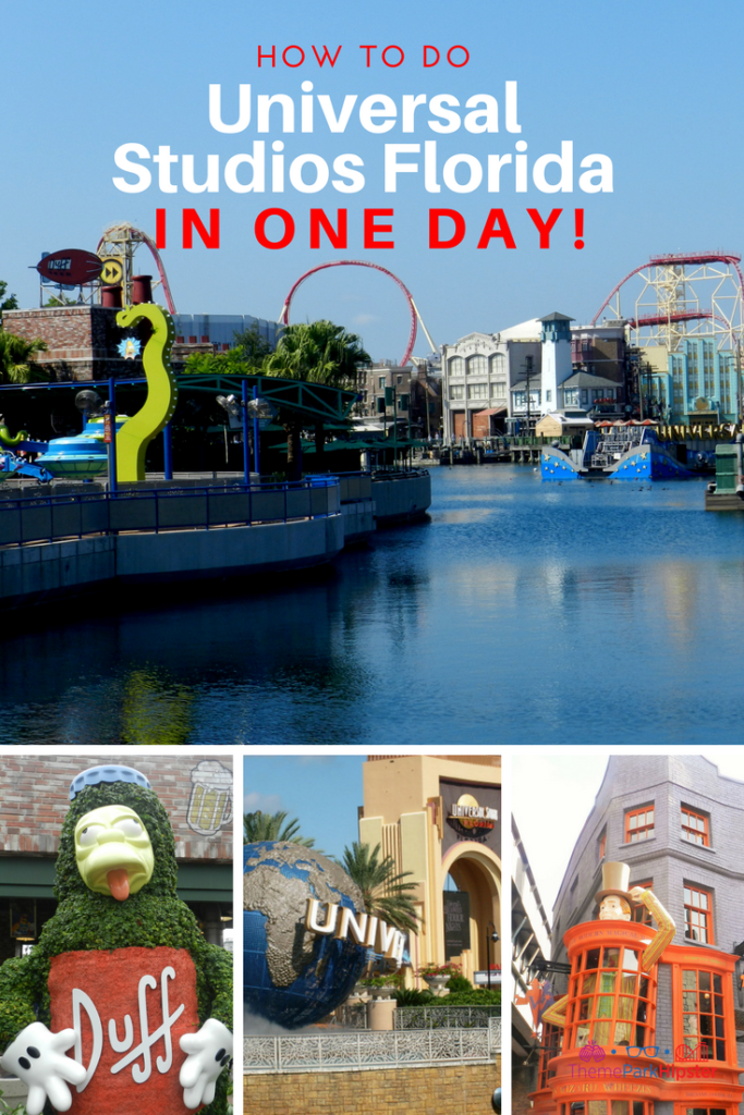 Universal Studios one day guide