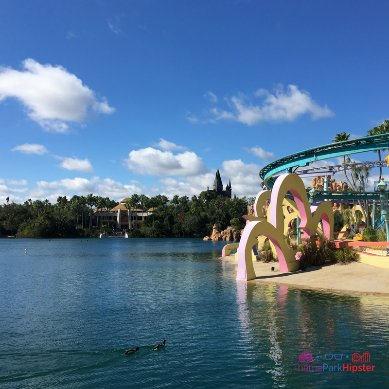 Marvel Super Hero Island lagoon