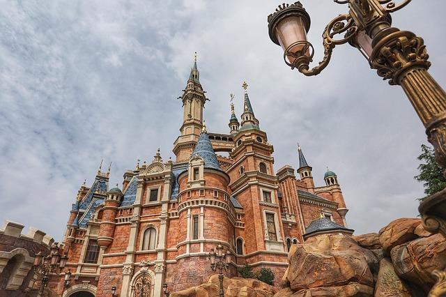 Shanghai Disneyland Princess Castle