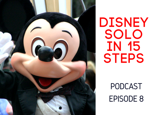 disney solo in 15 steps