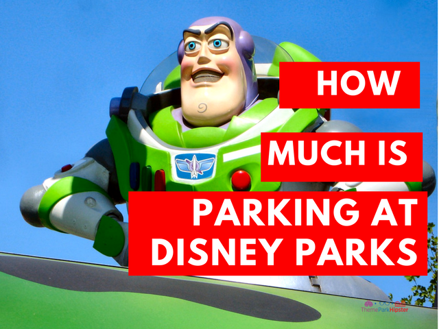parking price at disney parks