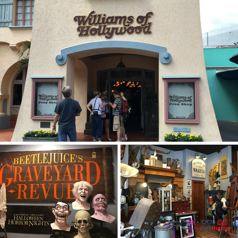 Williams of Hollywood Universal Studios