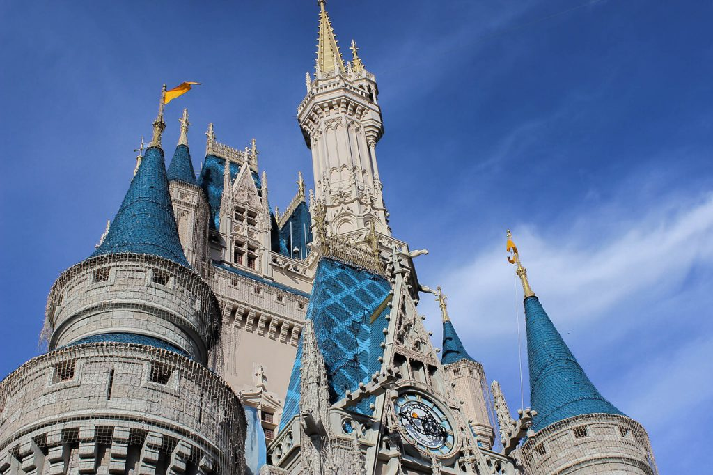 Cinderella Castle Magic Kingdom Cost to Park at Disney World