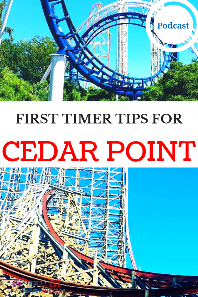 FIRST TIMER TIPS FOR CEDAR POINT with people on Steel Vengeance roller coaster.