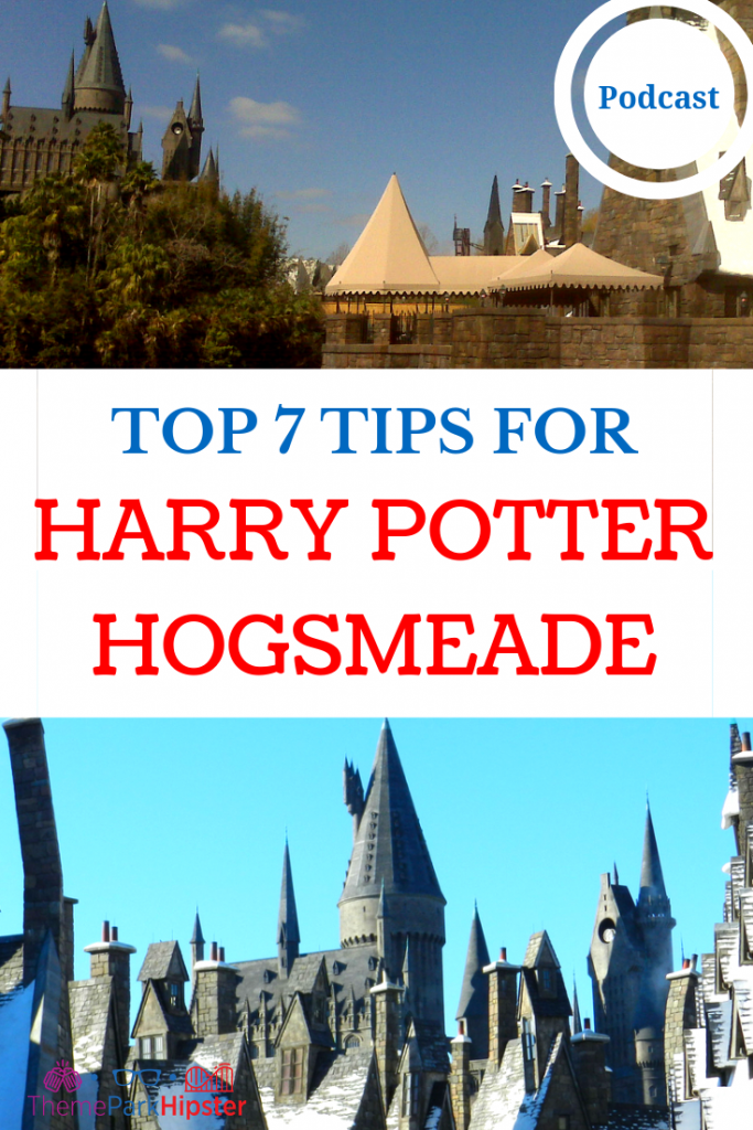 HARRY POTTER HOGSMEADE ISLANDS OF ADVENTURE with Hogwarts Old Castle