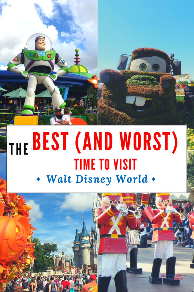 Best Time to Visit Disney World Orlando