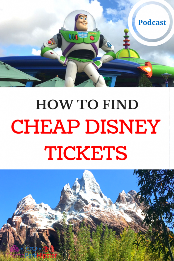 HOW TO FIND CHEAP DISNEY WORLD TICKETS