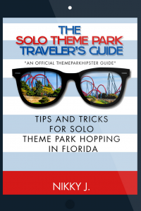 Get the solo Disney guide. The Solo Theme Park Traveler's Guide