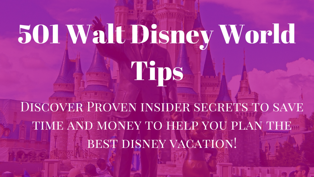 YOUR DISNEY VACATION STARTS NOW!