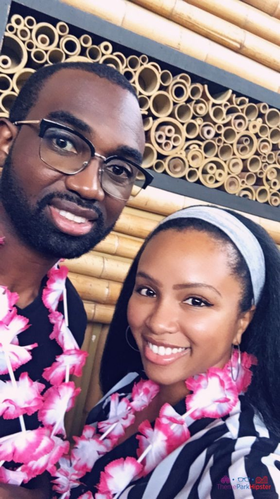 Disney Free Lei at Polynesian Resort with NikkyJ