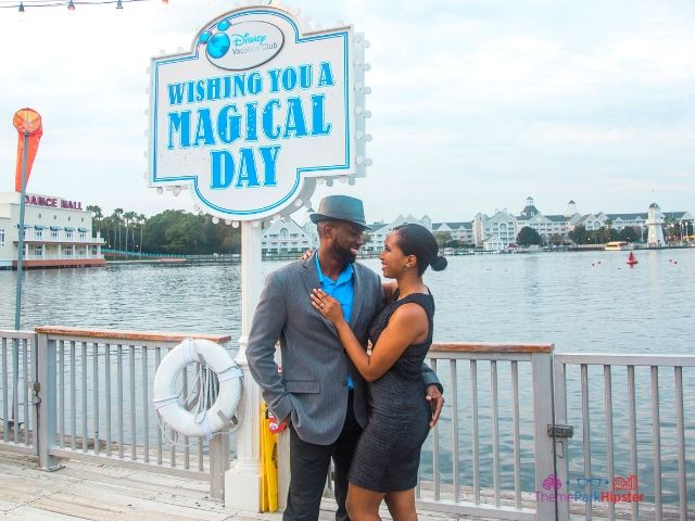 Free romantic date ideas for Disney at Boardwalk Inn with NikkyJ