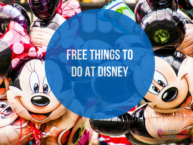 Free things to do at disney