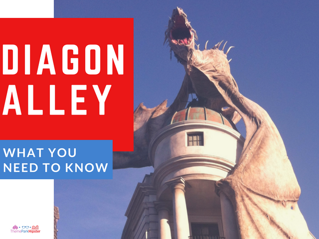 Tips and secrets located in The Wizarding World of Diagon Alley