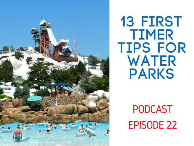 first timer water park tips
