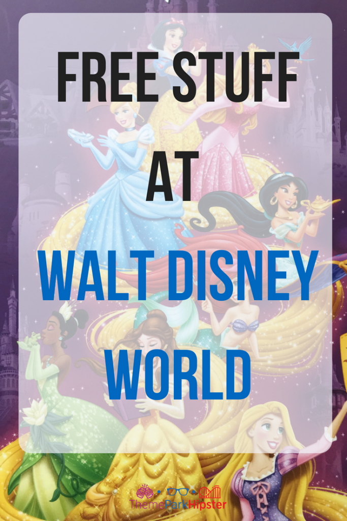 Disney Freebies and free things to do at Walt Disney World