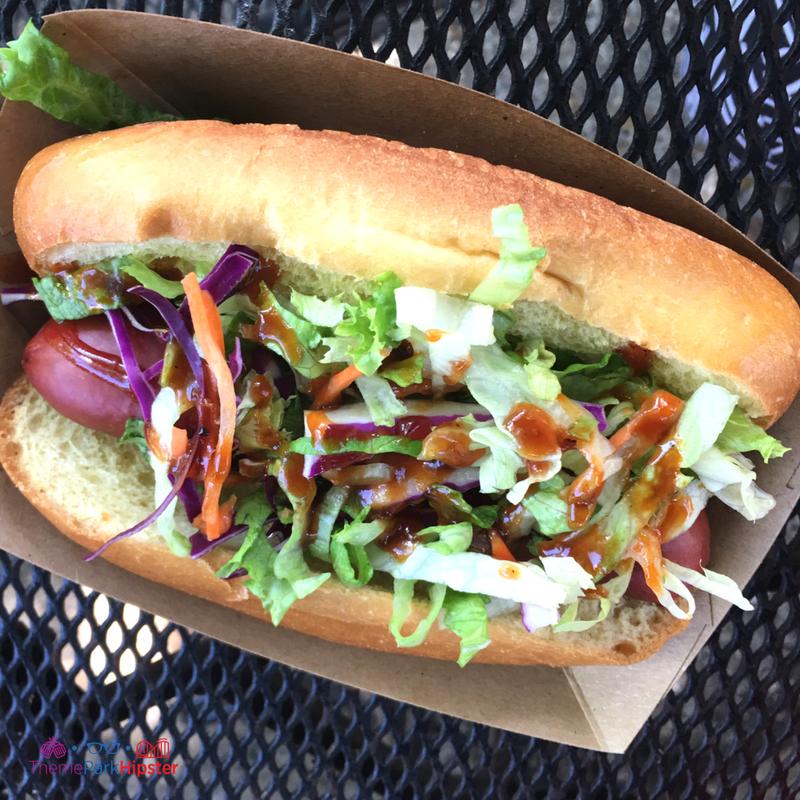 American Kobe Beef Hot Dog Best Animal Kingdom Snacks