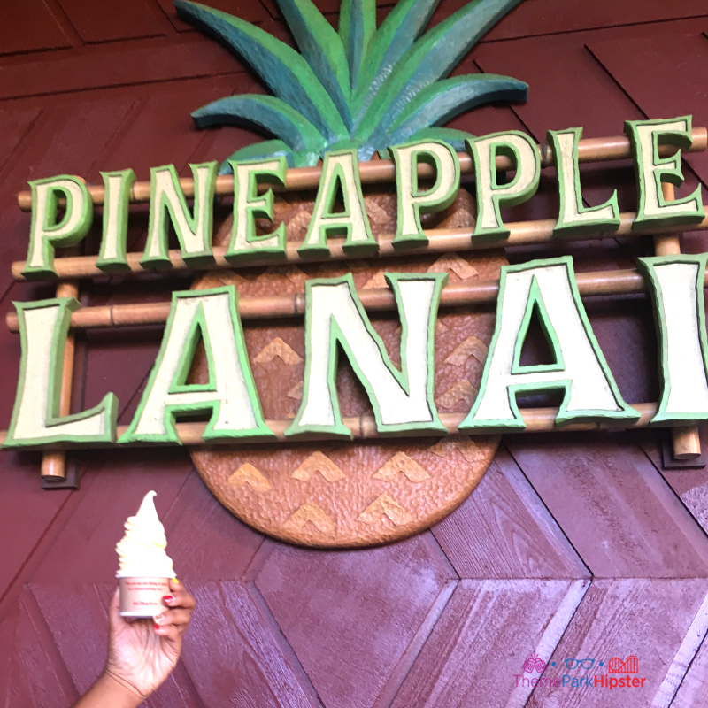 Dole Whip Pineapple Lanai at Disney's Polynesian Resort