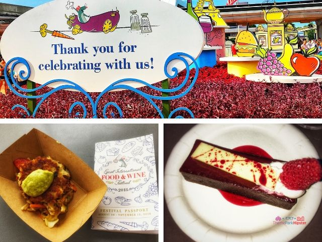Epcot Food and Wine Festival Menu Tips