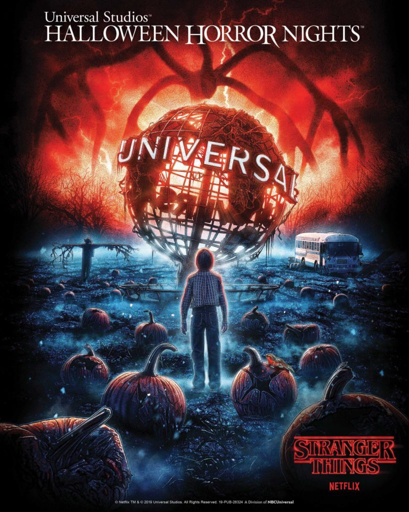 """Netflix's Original Series """"Stranger Things"""" Returns to Universal Studios Hollywood and Universal Orlando Resort With All-New """"Halloween Horror Nights"""" Mazes This Fall 2019"""