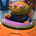 Toy Story Land Swirling Aliens