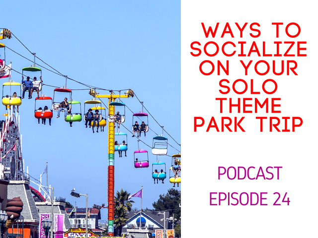 Ways to socialize on your solo theme park trip