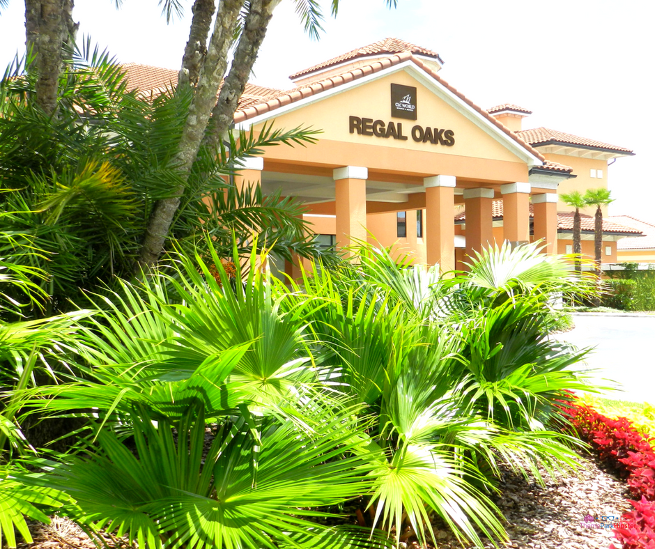 19 reasons you'll love CLC Regal Oaks. Lush vegetation in front of the resort.