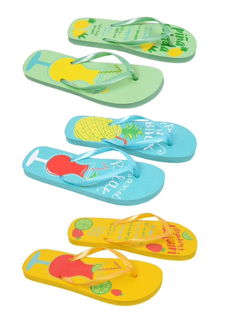 Disney Dollar Tree Cocktail Flip Flops water theme park