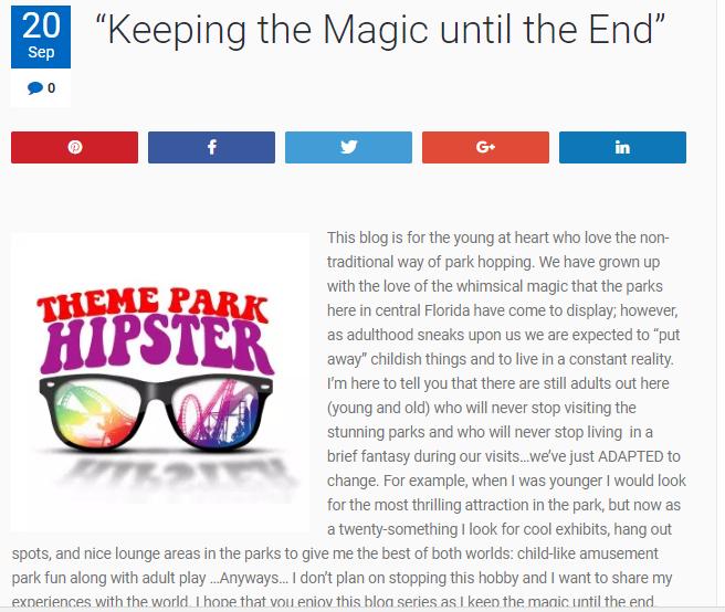 Disney Travel Blog