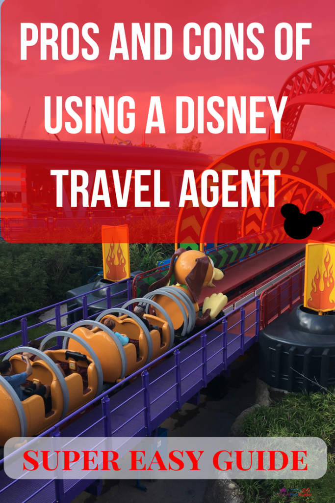 PROS AND CONS OF USING A DISNEY TRAVEL AGENT. Slinky Dog Dash big red roller coaster.