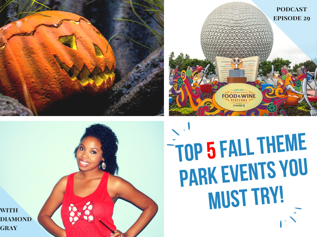 Top 5 Fall Theme Park Events You must Try!