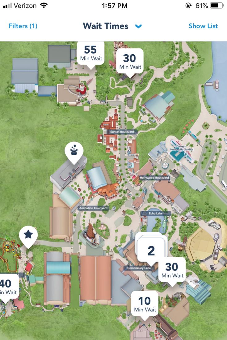 Hollywood Studios map - ThemeParkHipster