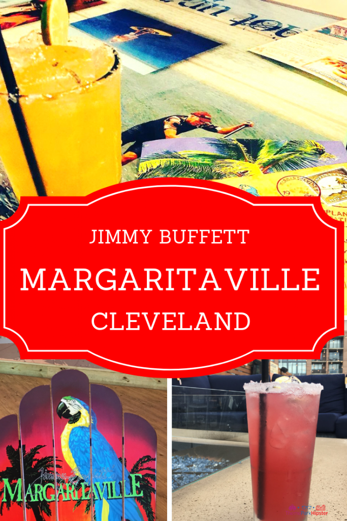 Margaritaville Cleveland Ohio. Delicious lime margarita with comfy lounge chairs.
