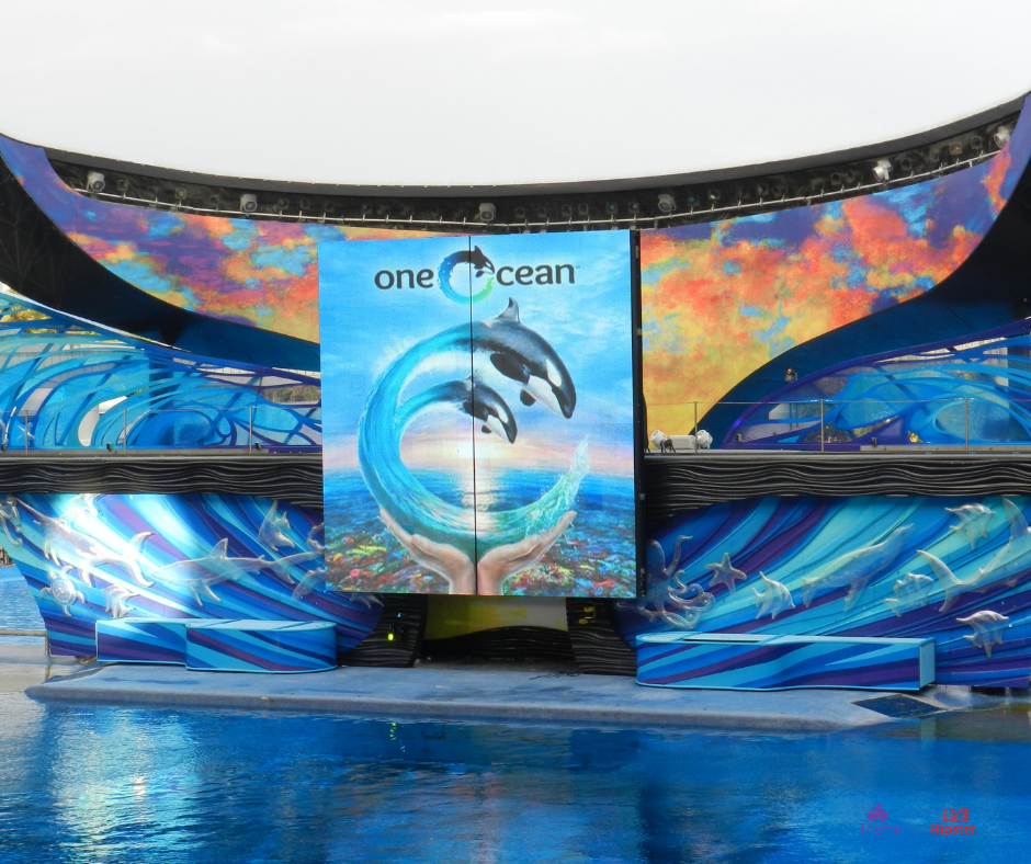 One Ocean Show at SeaWorld Orlando, A perk of the seaworld annual pass.