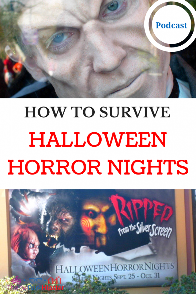 HOW TO SURVIVE HALLOWEEN HORROR NIGHTS UNIVERSAL ORLANDO