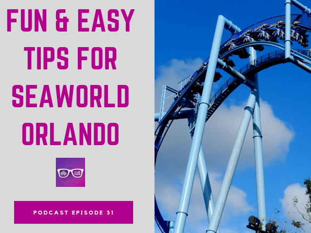 Fun & easy tips for SeaWorld Orlando. Large blue Manta roller coaster.
