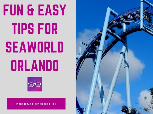 Fun & easy tips for SeaWorld Orlando. Large blue Manta roller coaster.