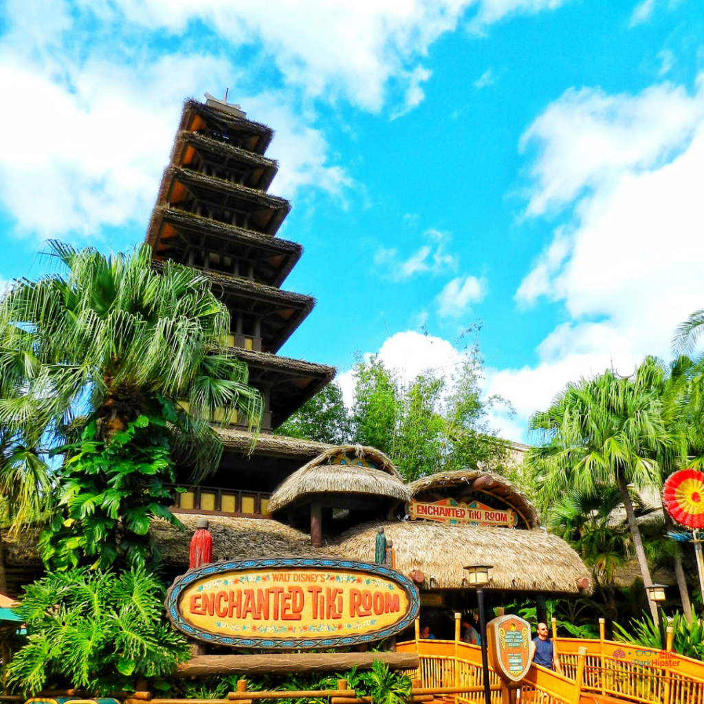 Adventureland Enchanted Tiki Room. Magic Kingdom Secrets.