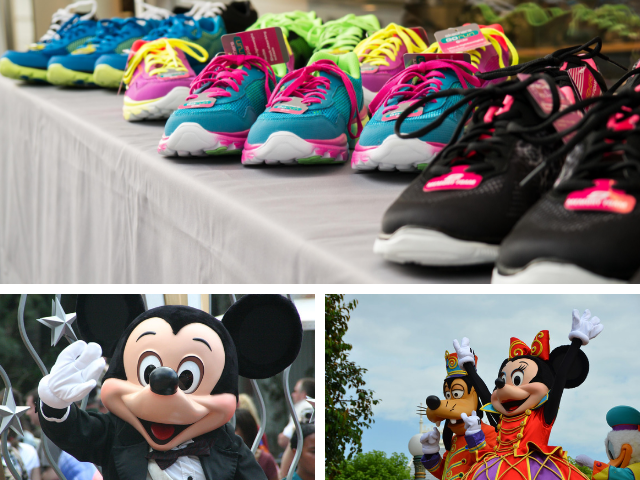 runDISNEY gift guide with Mickey and Minnie Mouse ready to run!