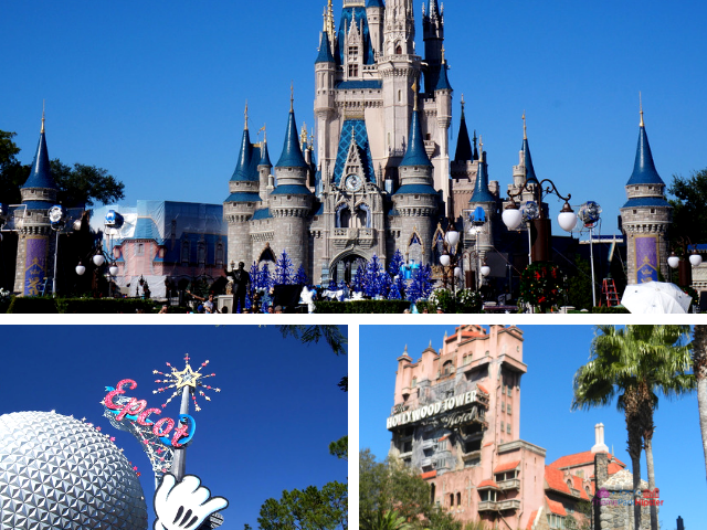 Walt Disney World Planning Guide. Disney itinerary with Cinderella Castle.