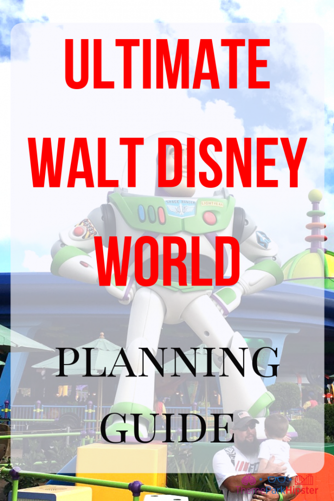 Walt Disney World guide and itinerary. How to do Disney in 3 days.
