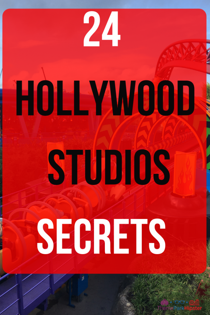 Disney Hollywood Studios Secrets #DisneyTips #HollywoodStudios #DisneySecrets