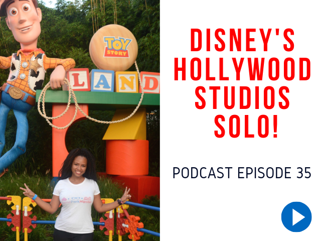 Disney Hollywood Studios Solo Tips. ThemeParkHipster in front of Woody at Toy Story Land. #disneytips #disneysolo #hollywoodstudios