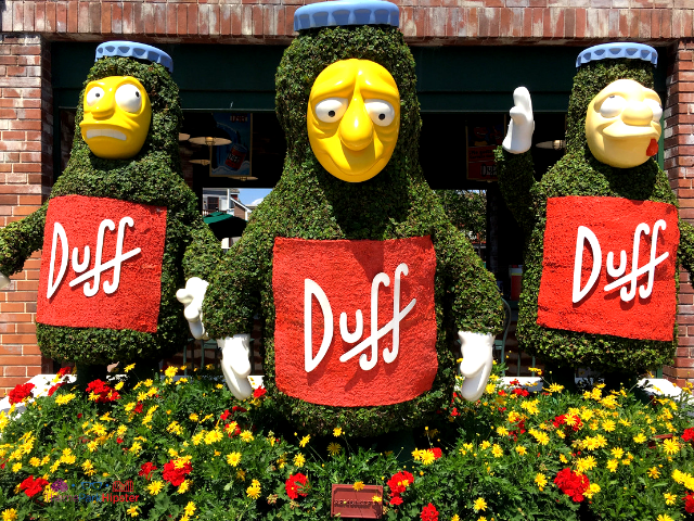 17 Easy tips for universal studios florida Duff Beer garden in Springfield.