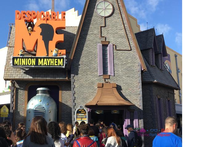 Despicable Me Minion Mayhem Universal Studios Orlando Tips