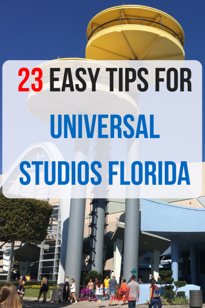 Easy tips for universal studios florida with yellow Men in Black Spacecraft