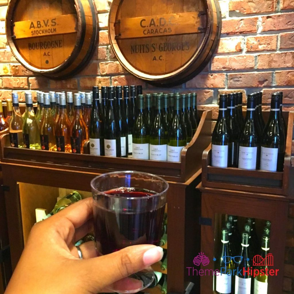 Epcot Flower and Garden Festival France Pavilion Wine Store