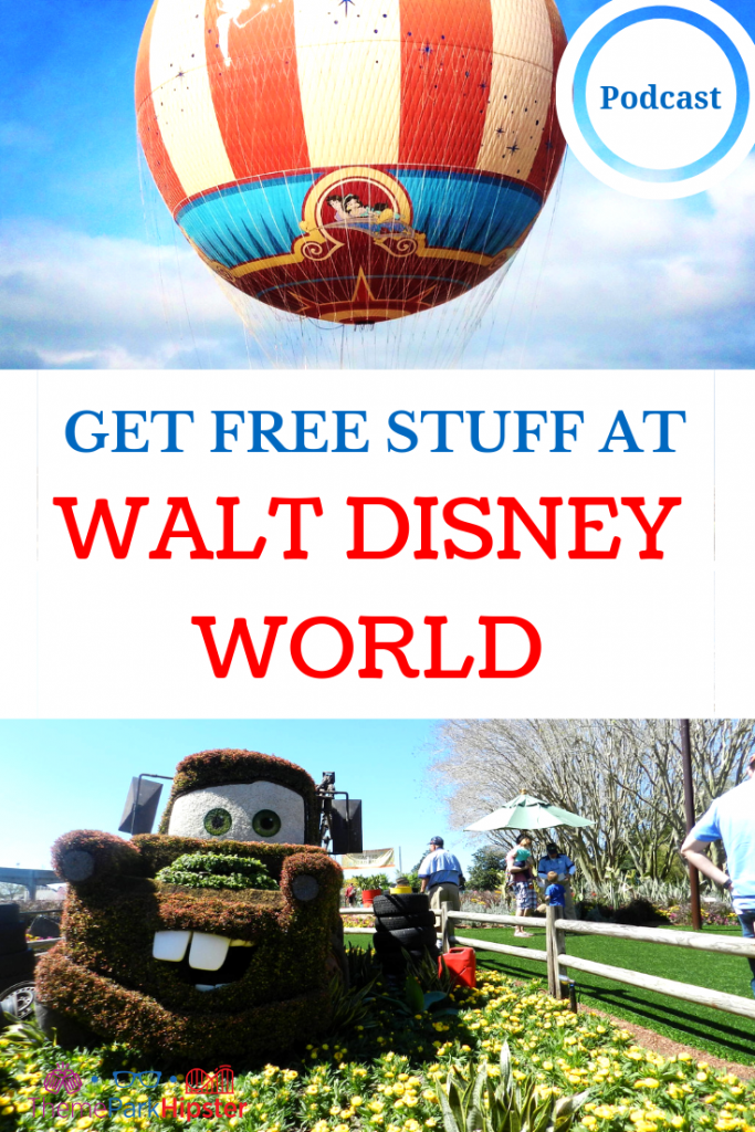 FREE THINGS TO DO AT DISNEY WORLD WITH AIR BALLOON AND MATER TRUCK