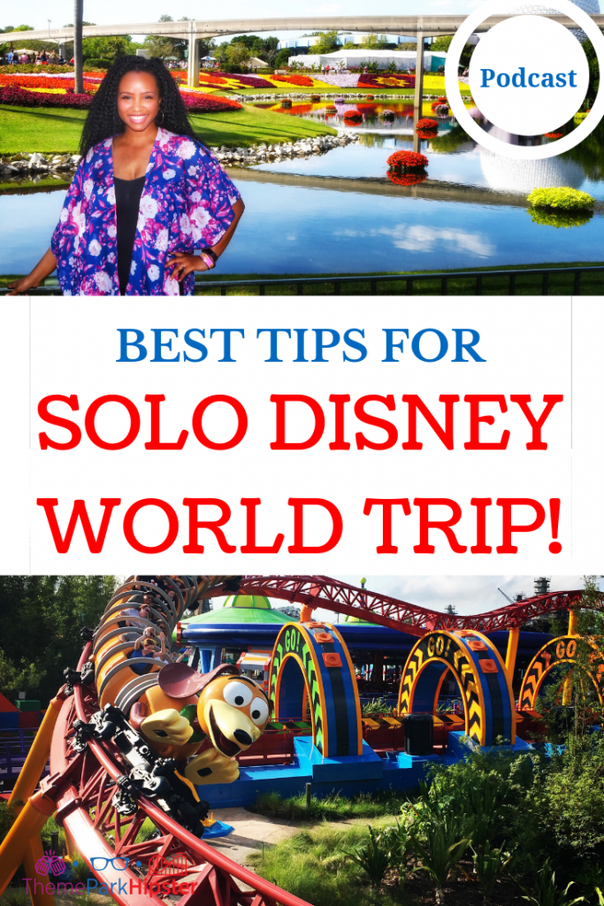 How to go to Disney Alone with Slinky Dog on red roller coaster.