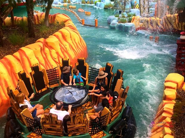 Islands of Adventure Tips Bluto Barge River Rapids Ride with Water All Over
